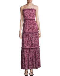 Zac Zac Posen - Maggie Floral Print Gown - Lyst