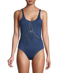 Dolce Vita Cut Out One Piece - Blue