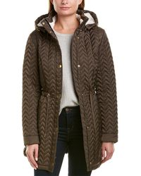 Laundry by Shelli Segal Quilted Anorak - Brown