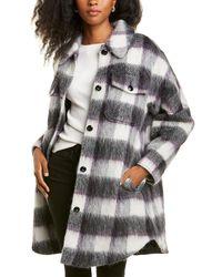 Woolrich Outbacker Wool, Mohair, & Alpaca-blend Shirt - White