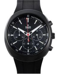 Rado D-star Chronograph Automatic Black Dial Mens Watch
