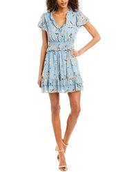 Rebecca Taylor Daniella Silk A-line Dress - White