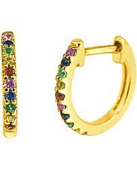Sabrina Designs - 14k 0.17 Ct. Tw. Sapphire Earrings - Lyst