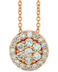 Le Vian ? 14k Strawberry Gold? 0.68 Ct. Tw. Diamond Pendant - Metallic