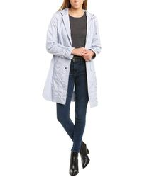Cole Haan Signature Hooded Anorak - Blue