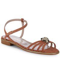 Aperlai - Brooch Ankle-strap Sandal - Lyst