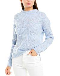 J.Crew Alpaca-blend Sweater - Blue