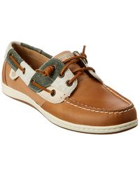 Sperry Top-Sider Songfish Varsity Boat Shoe - Brown
