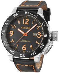 Magnum Inventor Watch - Metallic