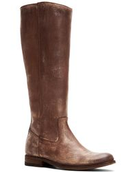 Frye Melissa Leather Boot - Brown