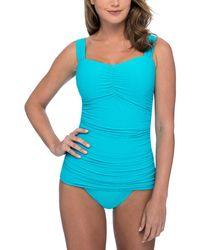 Gottex Ribbons-spring Tankini Top - Blue