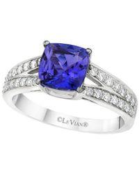 Le Vian ? 14k Vanilla Gold? 1.70 Ct. Tw. Diamond & Tanzanite Ring - Multicolour