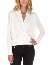 Lamade V-neck Top - White