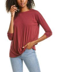 Bobi Tuck T-shirt - Red