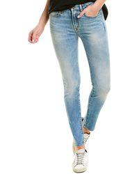 R13 Alison Jasper Stretch Skinny Leg - Blue