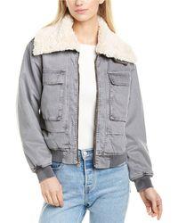 Young Fabulous & Broke Earhart Jacket - Grey