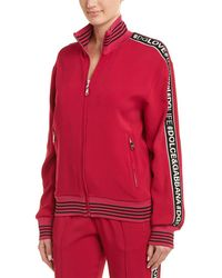 Dolce & Gabbana Silk-blend Jacket - Pink