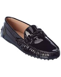 Tod's Tods Gommino Patent Loafer - Black
