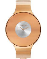 Calvin Klein Women's Seamless Watch - Multicolour