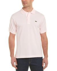 Lacoste L1212 Classic Fit Polo Shirt - Pink