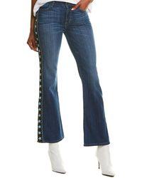 Siwy Anita Horoscope Mid-rise Flare Leg Jean - Blue