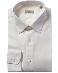 Ermenegildo Zegna Z Dynamic Slim Fit Dress Shirt - White