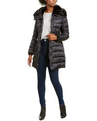 Nine West Hooded Jacket - Black