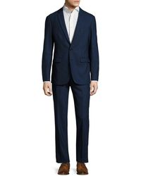 Aspetto - Wool Solid Notch Lapel Suit - Lyst