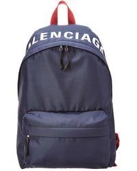 Balenciaga - Canvas Backpack - Lyst