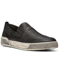 Donald J Pliner Rafael Leather Slip-on - Black