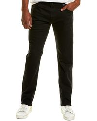 AG Jeans The Graduate Sulfur Black Tailored Leg Jean