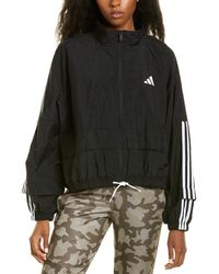 adidas Packable Woven Tracksuit Jacket - Black