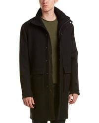 Vince - City Overcoat - Lyst