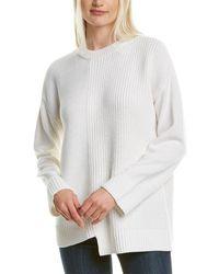 Alice + Olivia Sparrow Wool-blend Jumper - White