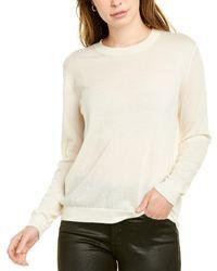 ESCADA Srowatan Cashmere Pullover - White
