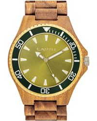 Earth Wood Unisex Centurion Watch - Multicolour