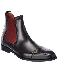 Mezlan Leather Boot - Black