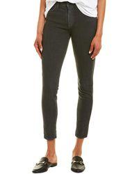 Baldwin Denim Jeans Karlie Smoke High-rise Skinny Crop - Black