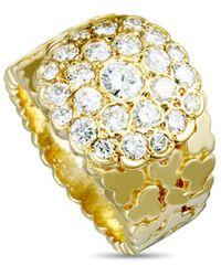 Van Cleef & Arpels Vintage - Van Cleef & Arpels 18k 1.30 Ct. Tw. Diamond Ring - Lyst