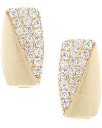 Dana Rebecca - Designs Jeannie Anne 14k 0.12 Ct. Tw. Diamond Drop Earrings - Lyst