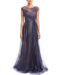 Rene Ruiz Collection Gown - Blue