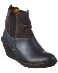Fly London - Sula Wedge Bootie - Lyst