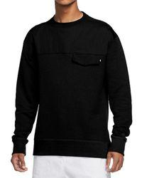 Nike Sb Novelty Crewneck Sweatshirt - Black