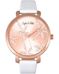 Sophie & Freda Women's Key West Watch - Pink