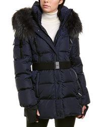 Sam. Millennium Matte Coat - Blue