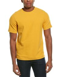 Theory Ove Surf Terry T-shirt - Yellow