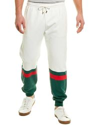 Gucci Colorblocked Pant - White