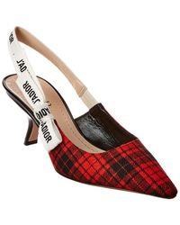 Dior J'a Slingback Pump - Red