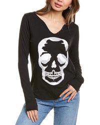 Zadig & Voltaire Tunisien Camo Decal T-shirt - Black