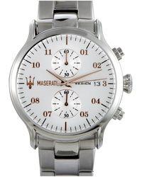 Maserati Stainless Steel Watch - Metallic